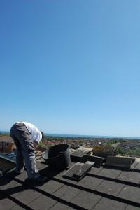 Étanchéité de toiture Aubergenville
